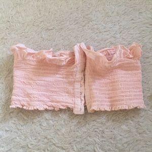 Urban outfitters pink bandau